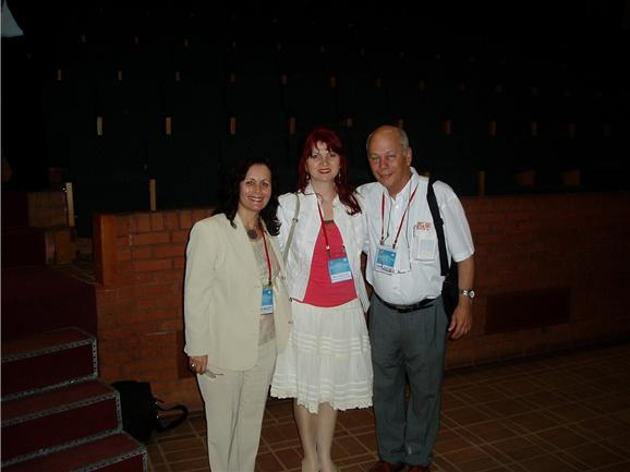 Sima Halevy, Mine Karag�lle and Shaul Sukenik  at the 35th ISMH Congress 16 June 2006 Istanbul